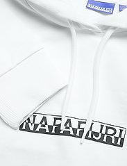 Napapijri - B-BOX CROPPED H S - sweatshirts & hættetrøjer - bright white - 2