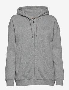 BICCARI FZH - hoodies - grey melange