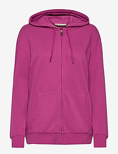 BICCARI FZH - hoodies - clover purple