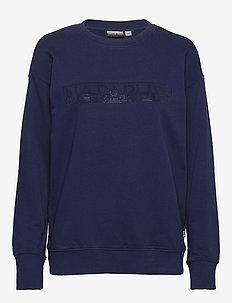 BICCARI C - sweaters - medieval blue