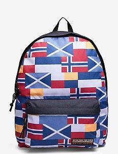 HAN DP RE PRINT - sacs à dos - blue flag