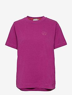 SILBE W - t-shirts - clover purple