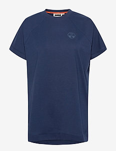 SILBE W - t-shirts - medieval blue