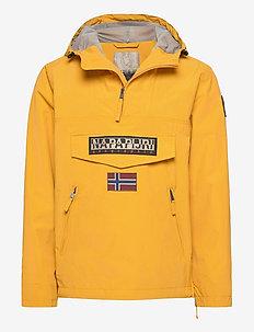RAINFOREST S PKT 1 - anorakker - mango yellow