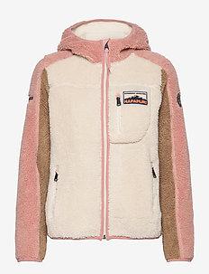 YUPIK W H - mid layer jackets - whitecap gray
