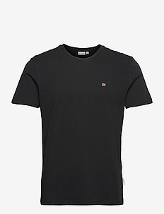 SALIS C SS - t-shirts basiques - black