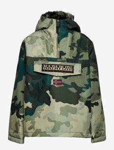 K RAINFOREST AOP - shell jacket - green aop f7i