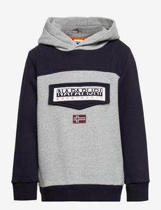 K BURGEE W 1 - hoodies - grey cb mad