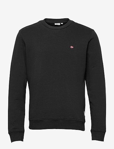 BALIS CREW - knitted round necks - black