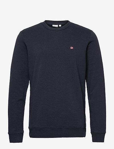 BALIS CREW - knitted round necks - blue marine