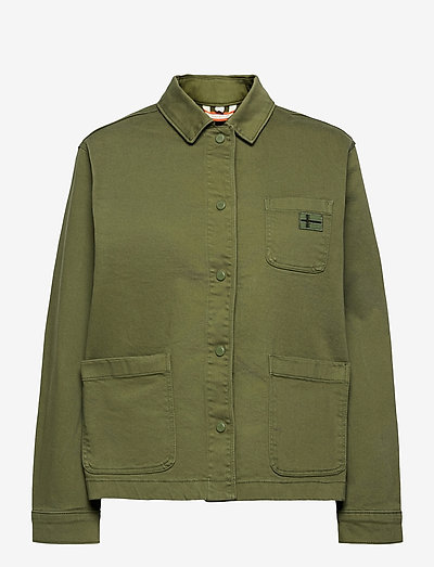 ALIE - overshirts - green cypress