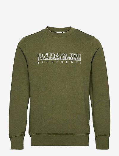 BALLAR C - clothing - green cypress