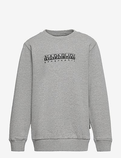 K B-BOX C - sweatshirts - med grey melange