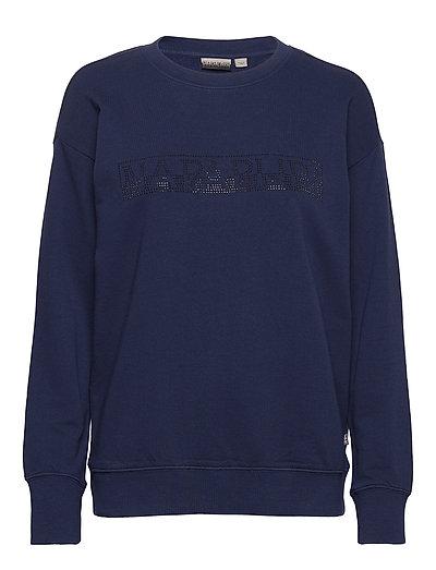 Biccari C Sweat-shirt Pullover Blau NAPAPIJRI