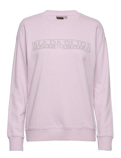 Biccari C Sweat-shirt Pullover Pink NAPAPIJRI