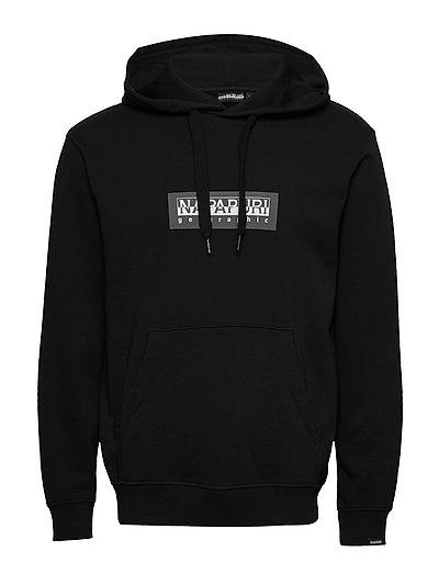 Box H 1 Hoodie Pullover Schwarz NAPAPIJRI