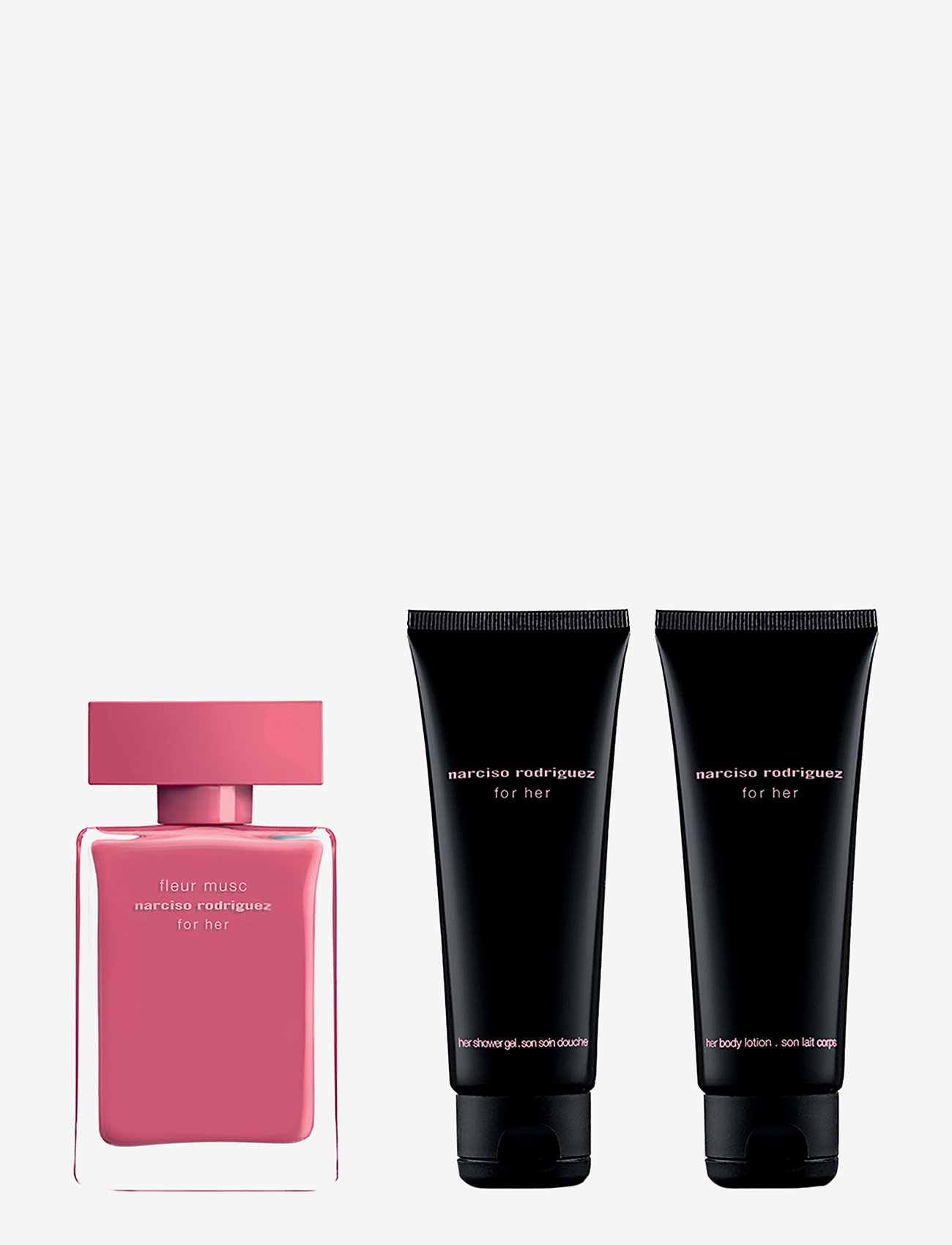 Narciso Rodriguez - FOR HER FL MUSC EDP50/BL75/SG 75ML - parfymset - no color - 1