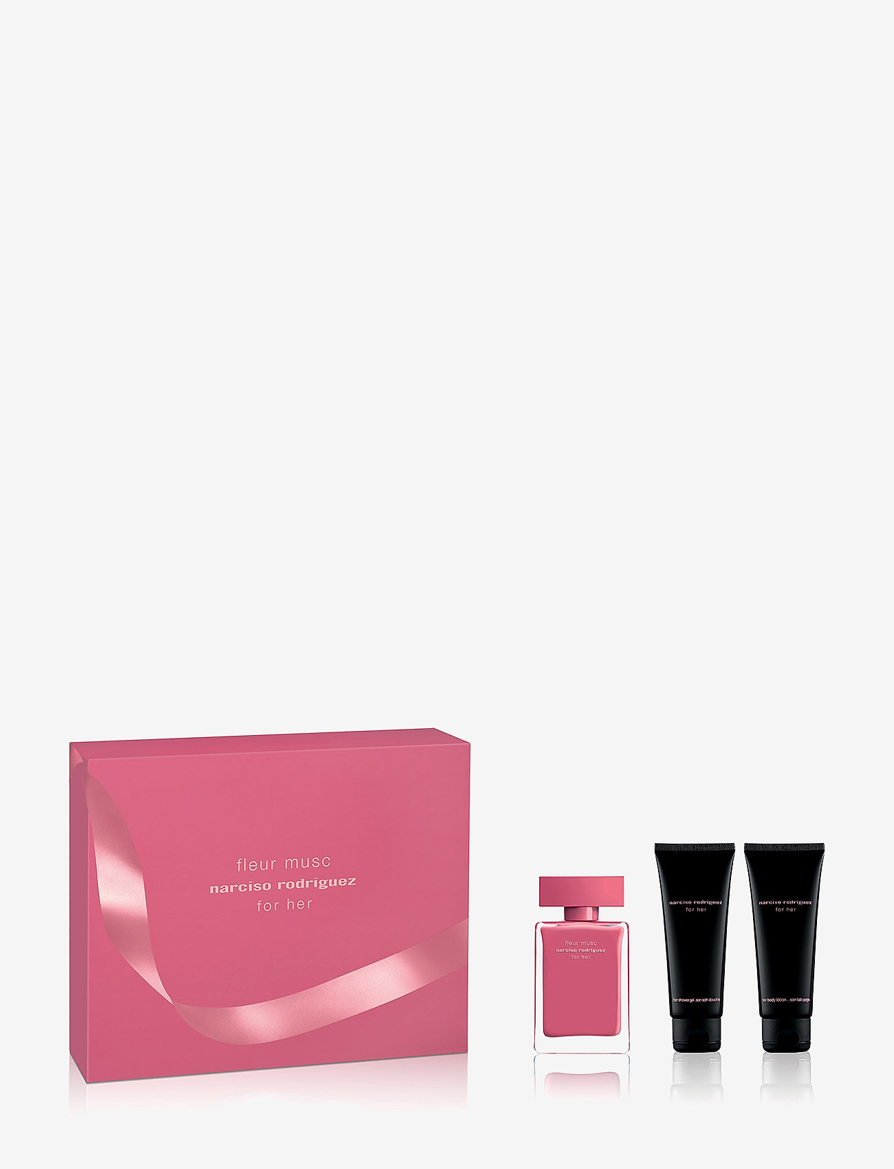 Narciso Rodriguez - FOR HER FL MUSC EDP50/BL75/SG 75ML - parfymset - no color - 0
