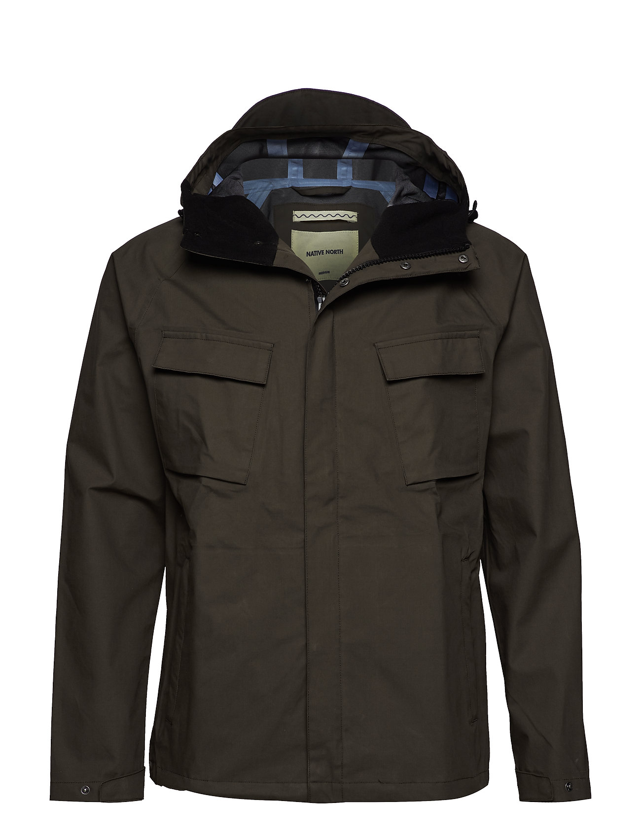 Native North TECHNICAL BASE JACKET 2.0 - BROWN