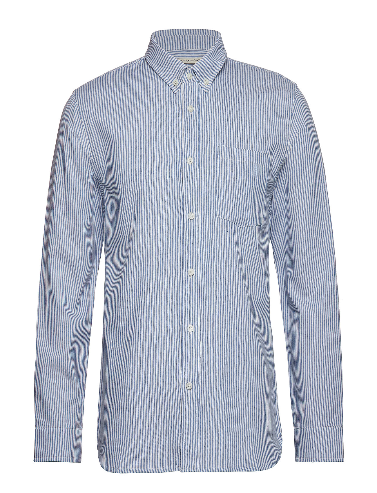 Native North TOM STRIPED SHIRT - BLUE
