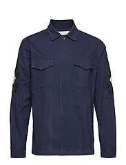 FIELD THISTLE OVERSHIRT - NAVY