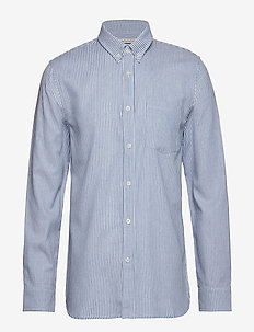 TOM STRIPED SHIRT - BLUE