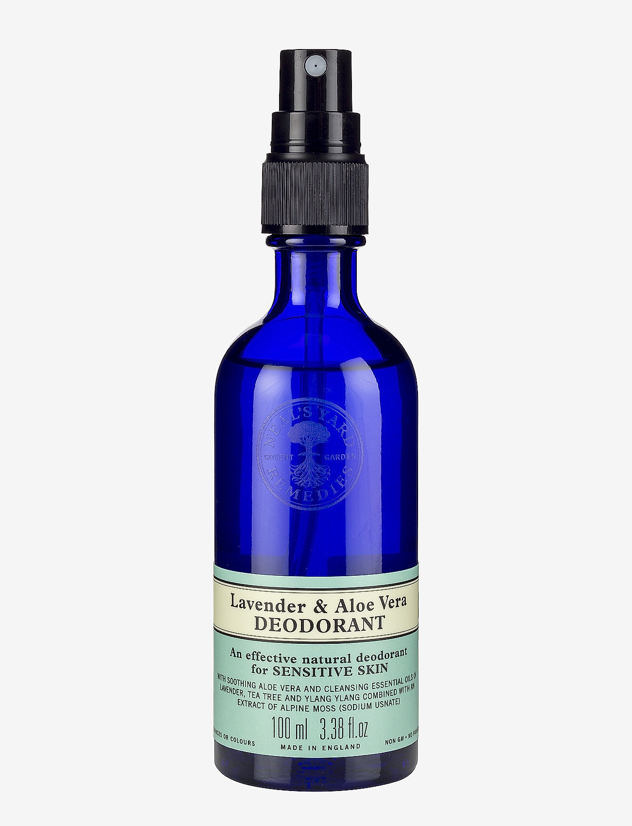 Neal's Yard Remedies - Lavender & Aloe Vera Deodorant Spray - deospray - no colour - 0