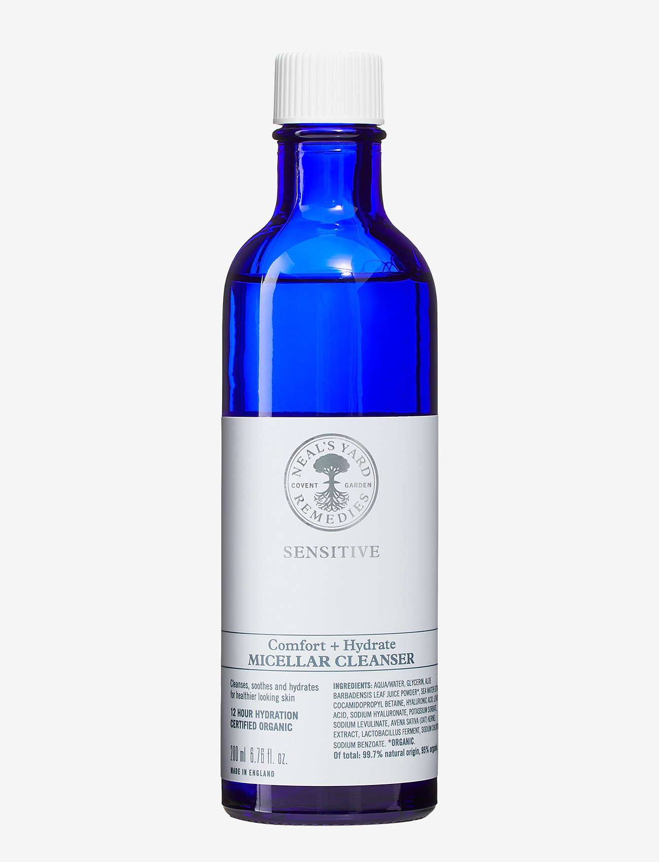 Neal's Yard Remedies - Sensitive Comfort + Hydrate Micellar Cleanser - makeupfjerner - clear - 0