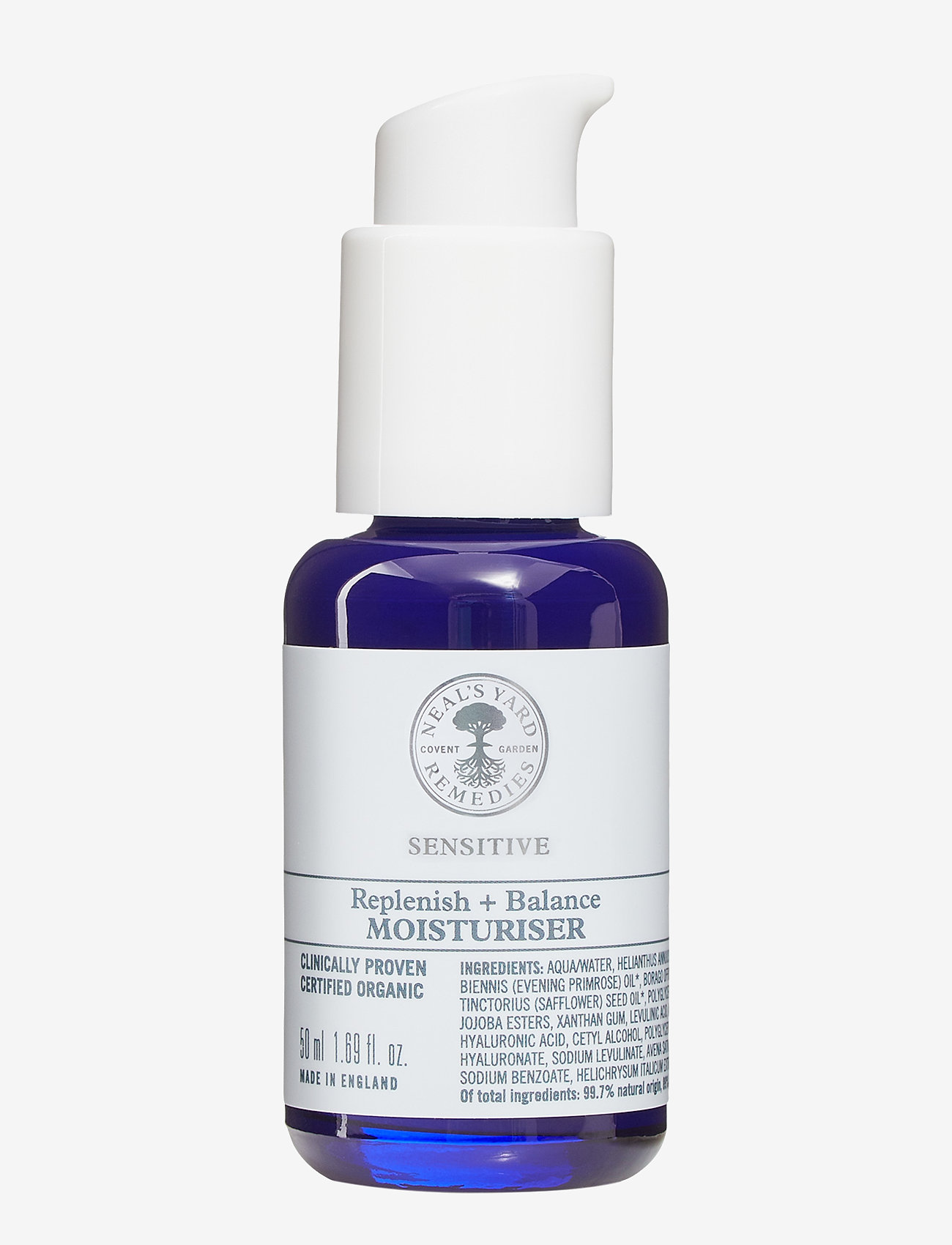 Neal's Yard Remedies - Sensitive Replenish + Balance Moisturiser - dagkrem - clear - 0