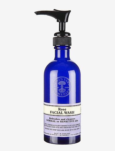 Rehydrating Rose Facial Wash - rensegel - no colour