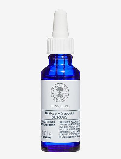 Sensitive Restore + Smooth Serum - seerumit - clear