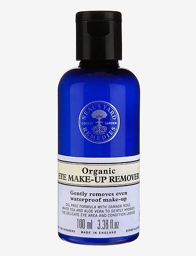 Organic Eye Makeup Remover - meikinpoistoaine - clear