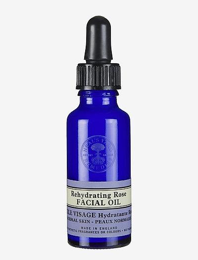 Rose Facial Oil - ansiktsoljer - no colour
