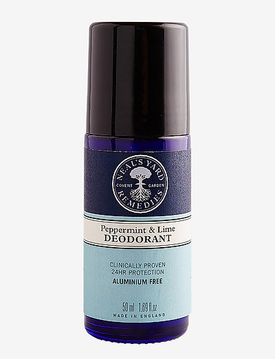 Peppermint & Lime deodorant - deo roll-on - no colour
