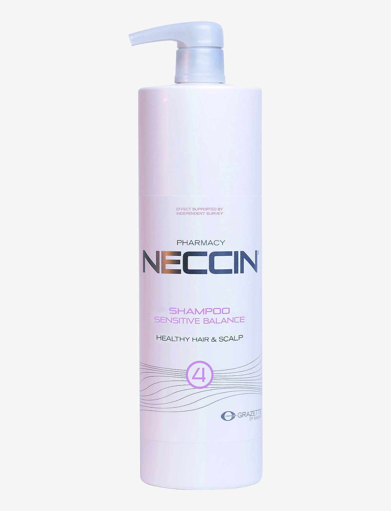 Neccin - Neccin 4 Sensitive Balance - shampoo - clear - 0