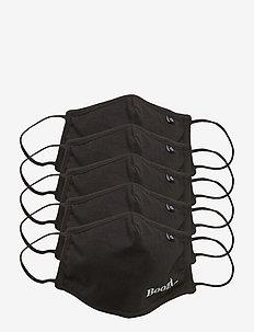 Face Cover Boozt x Neutral® - gezicht maskers - black/dark heather