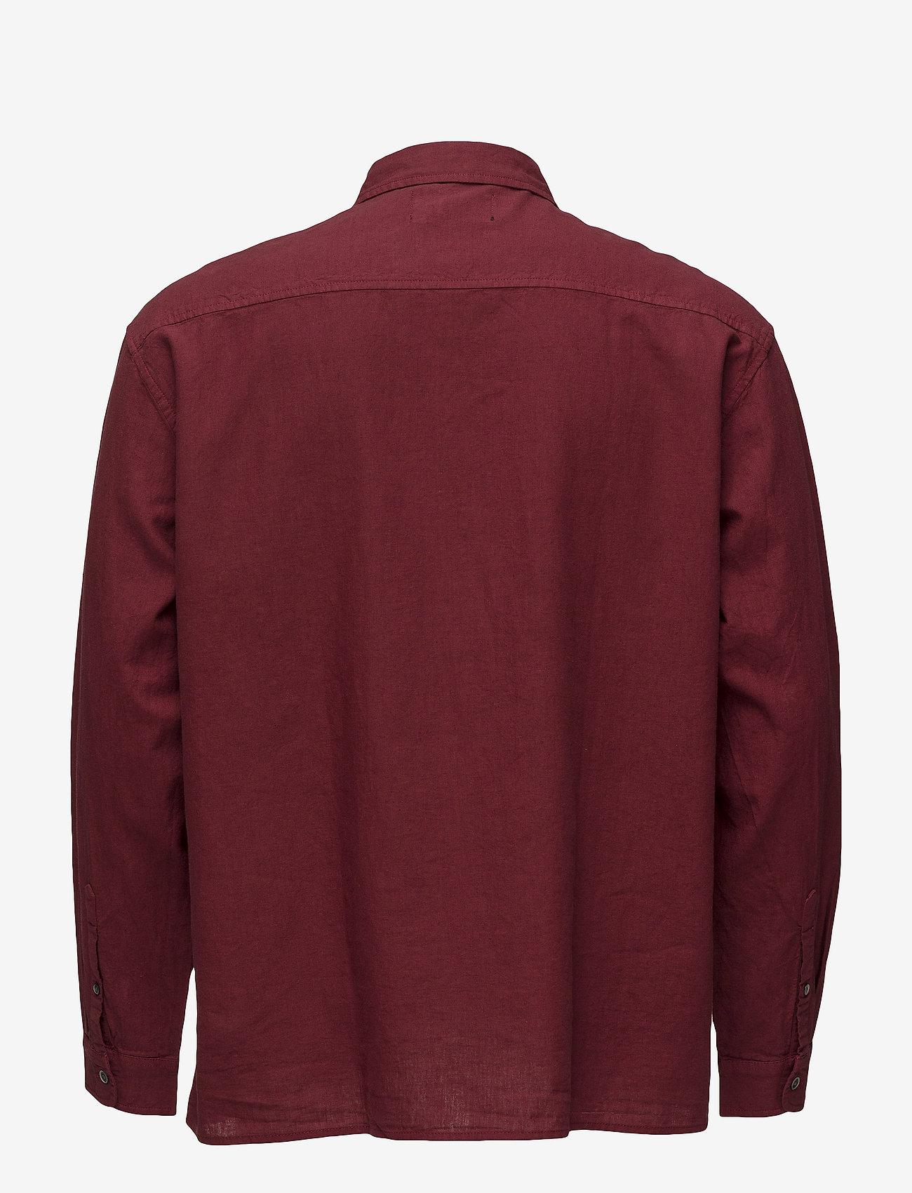 Relaxed L/s Shirt (Red) - NEUW GFfzLU