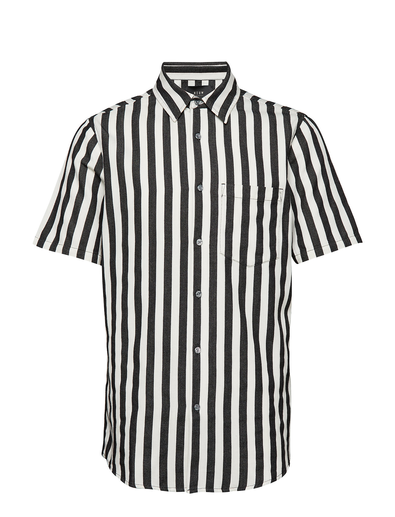 NEUW Work Stripe SS Shirt - OFF WHITE