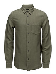 Drill Cotton Shirt - MILITARY