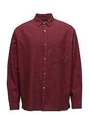 Relaxed L/S Shirt - RED