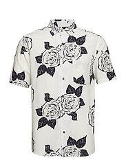 Rose S/S Shirt - WHITE