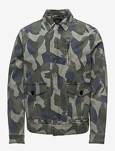 Military Coach - tunna jackor - denison camo