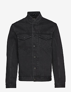 Relaxed Bomber - washed black