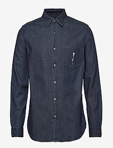 Waits Denim BR Shirt - denimskjorter - zero dark