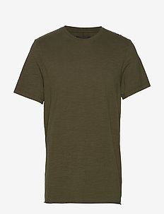 Bass Slub Tee - basic t-shirts - military