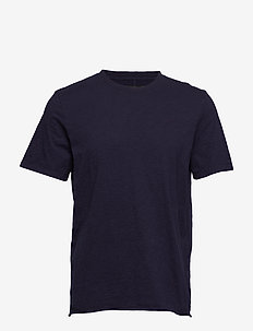 Bass Slub Tee - NAVY