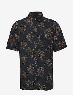 Rose S/S Shirt - BLACK