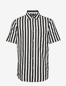 Work Stripe SS Shirt - OFF WHITE
