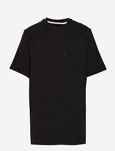 HEAVY TEE - kortärmade t-shirts - black