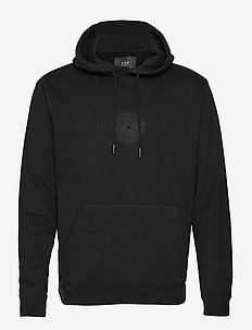ENDLESS HOOD - hoodies - black